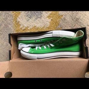 Chuck Taylors green size 10 men's size 12 women's